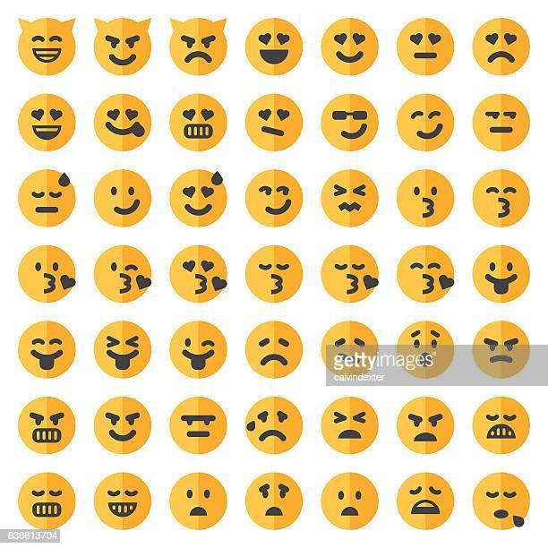Two tone emoji set 2