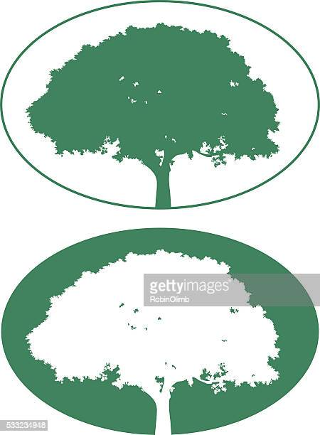 Two Tree Icons