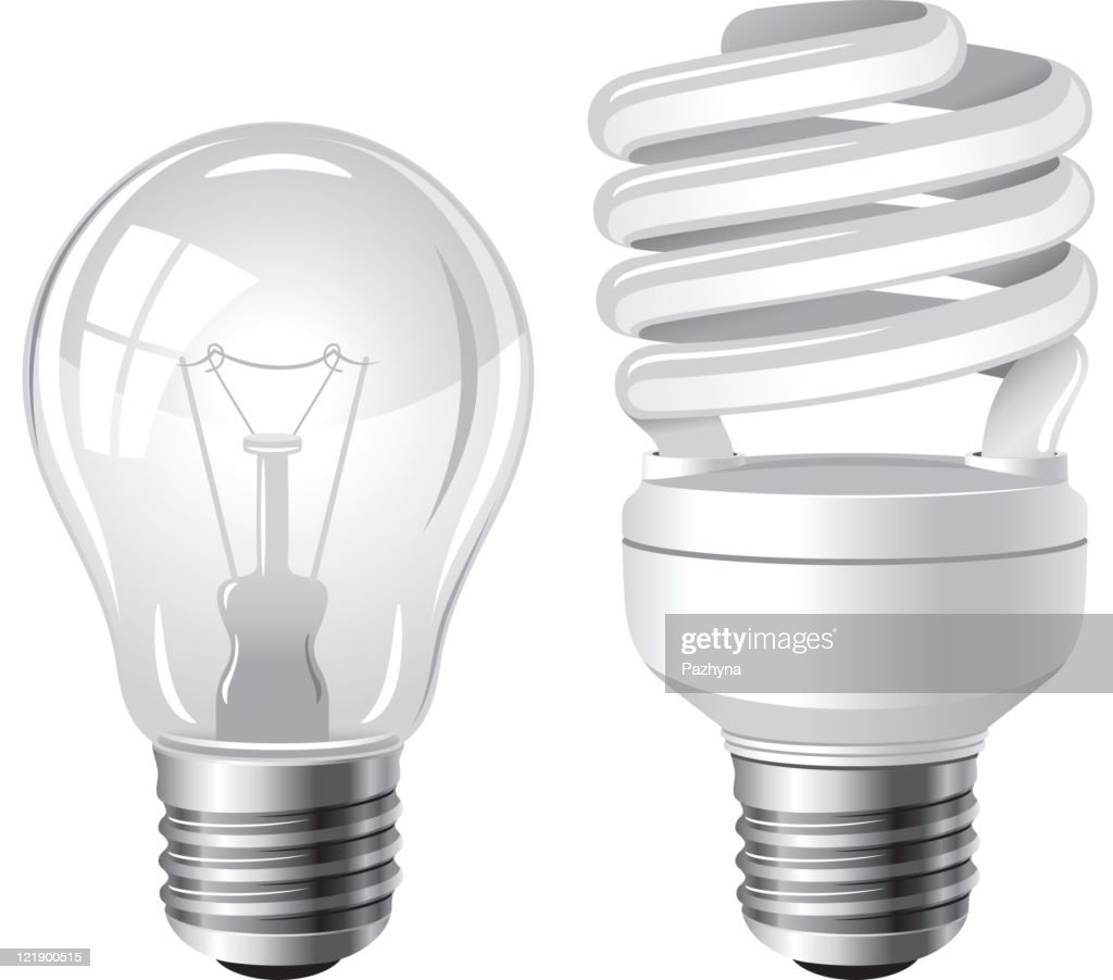 Two type of light bulbs