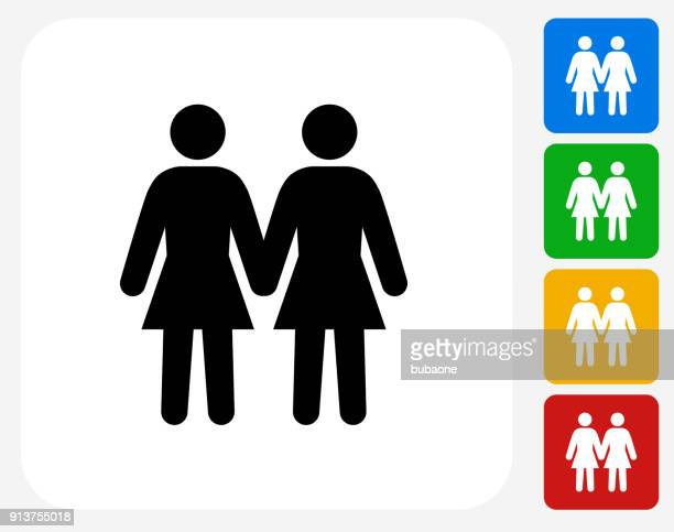 two women love each other lesbian couple. - marriage equality stock illustrations, clip art, cartoons, & icons
