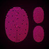 Types of fingerprint patterns