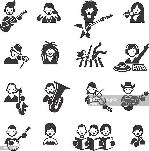 Types of Music icons