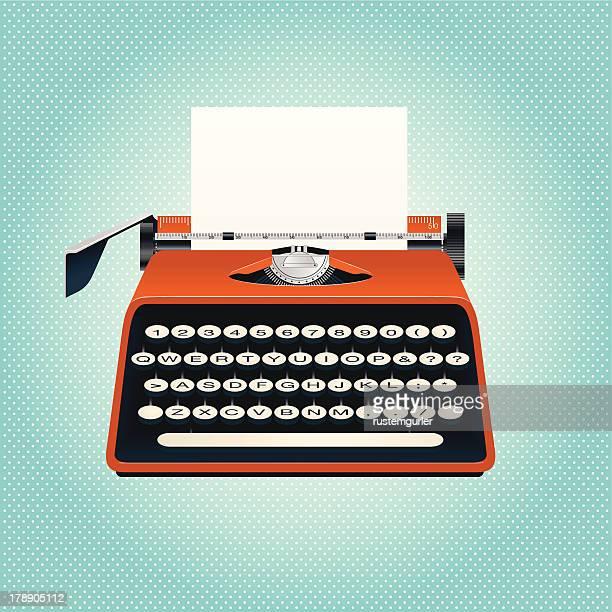 typewriter - typewriter stock illustrations
