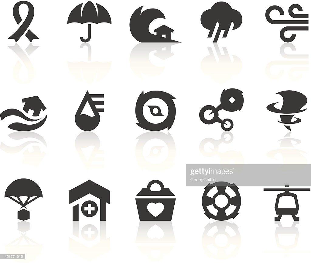 Typhoon Icons | Simple Black Series