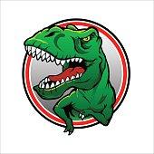 Tyranosaurus rex Vector drawing