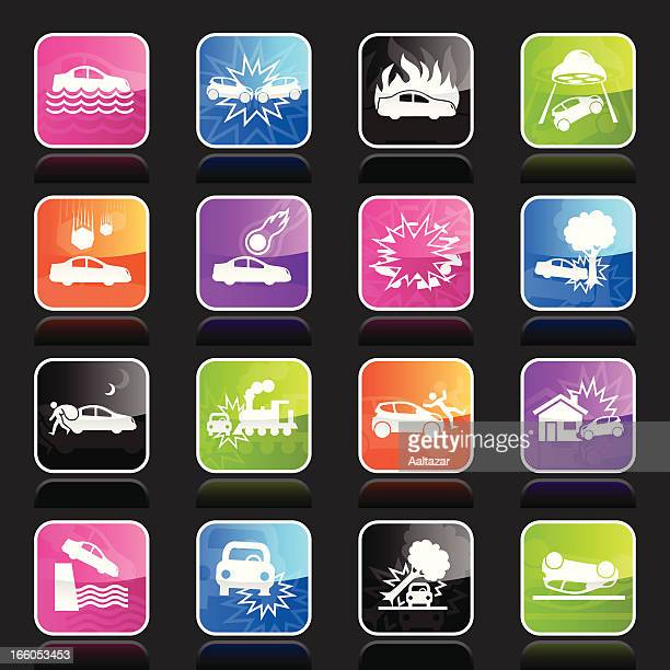 Ubergloss Icons - Car Disaster