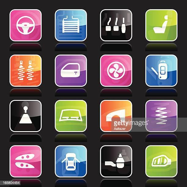Ubergloss Icons - Car Parts