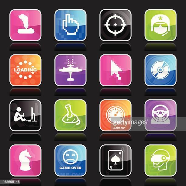 Ubergloss Icons - Computer Gaming