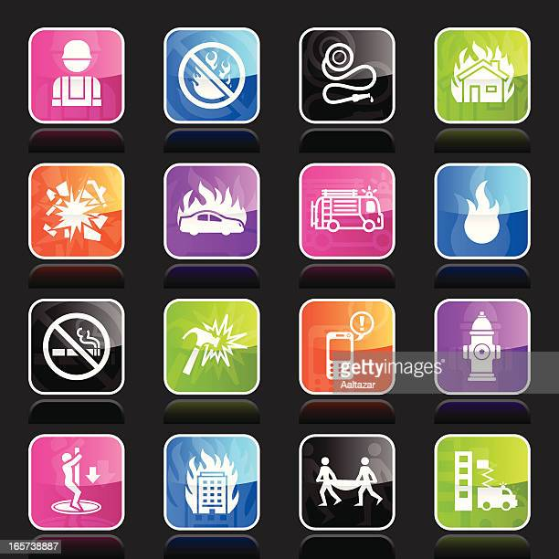 Ubergloss Icons - Firefighters
