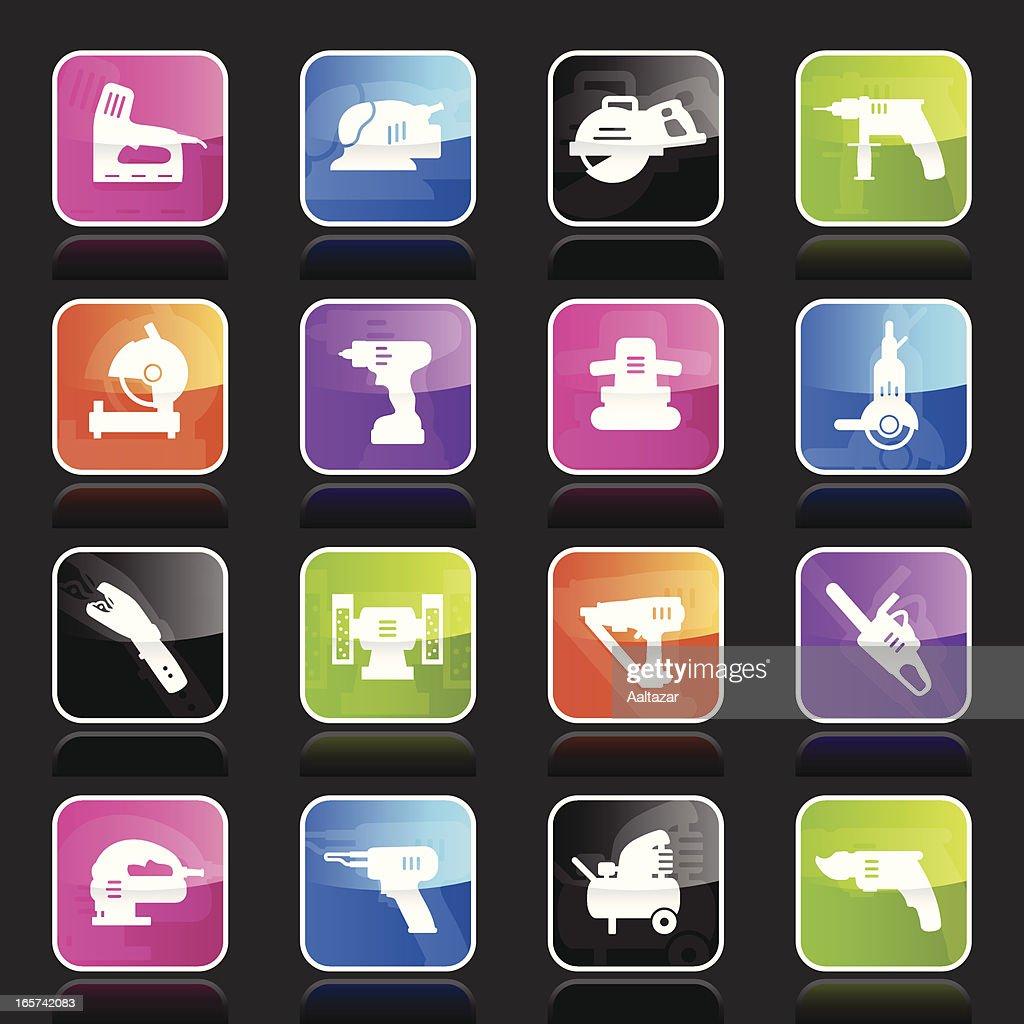 Ubergloss Icons - Power Tools