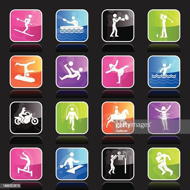 Ubergloss Icons - Sports