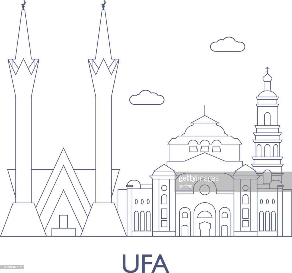 Ufa, The most famous buildings of the city