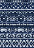 Ugly sweater Pattern 1