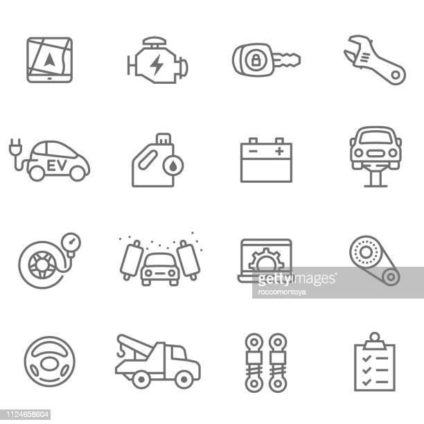 illustrazioni stock, clip art, cartoni animati e icone di tendenza di ui ux design - motore