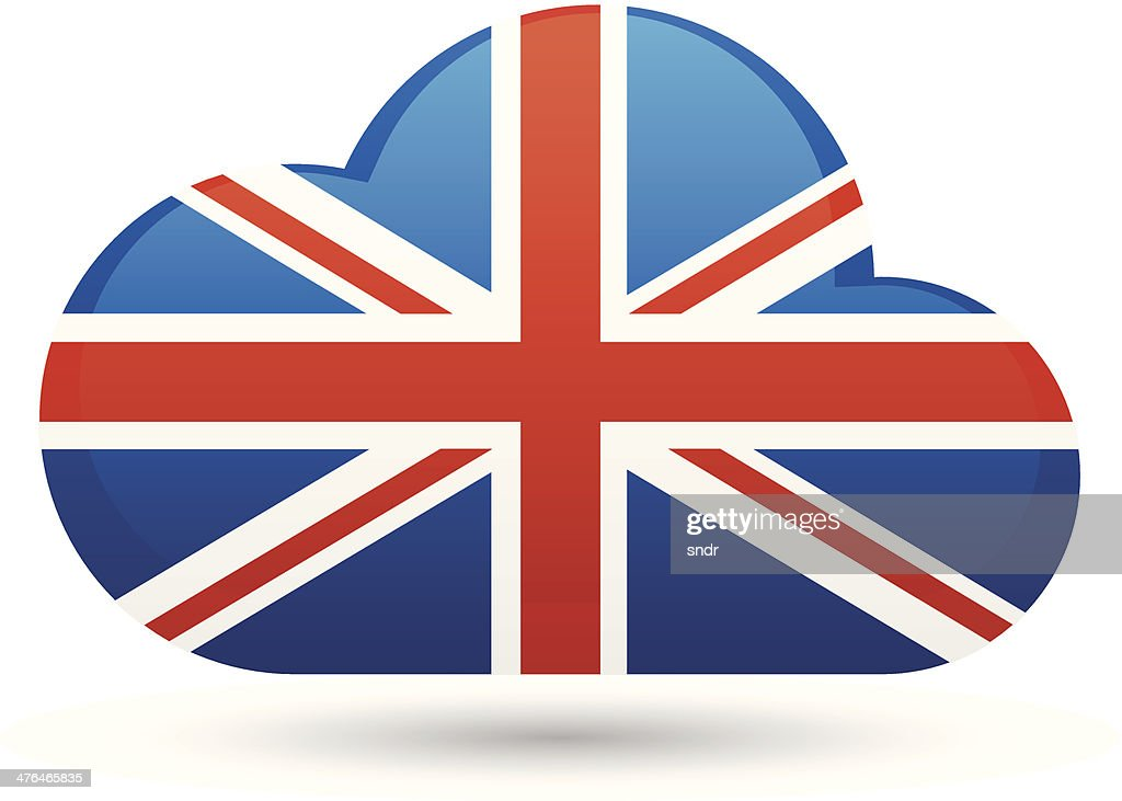 Uk cloud icon