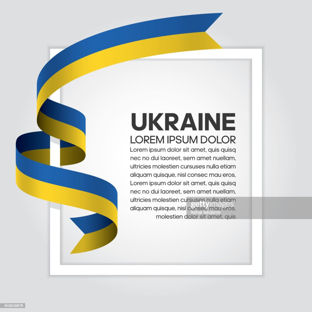 Ukraine flag background