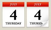 Ultimate 4th of July calendar design