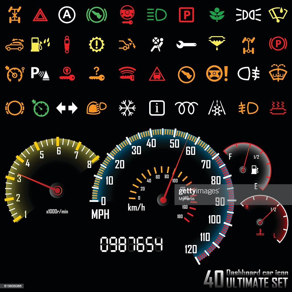 Ultimate dashboard 40 icons(Set 2)