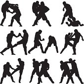 Ultimate fighters fighting