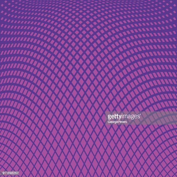 ultra violet halftone pattern, abstract background of wavy lines - s shape stock illustrations