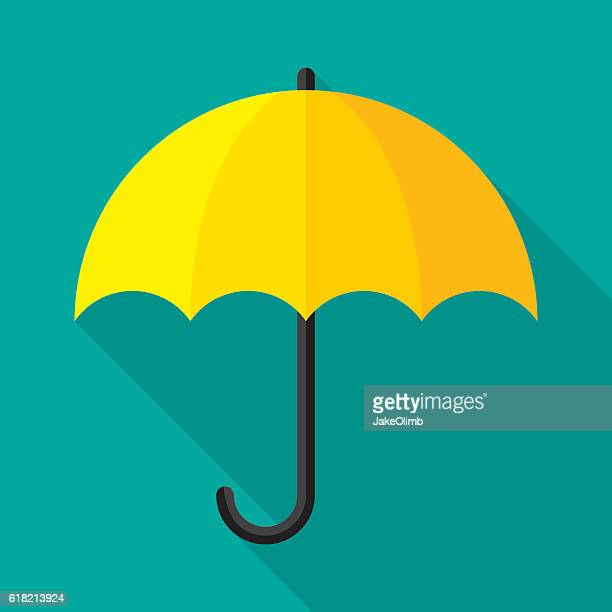 Umbrella Icon Flat