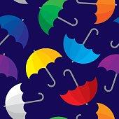 Umbrella Pattern Colorful
