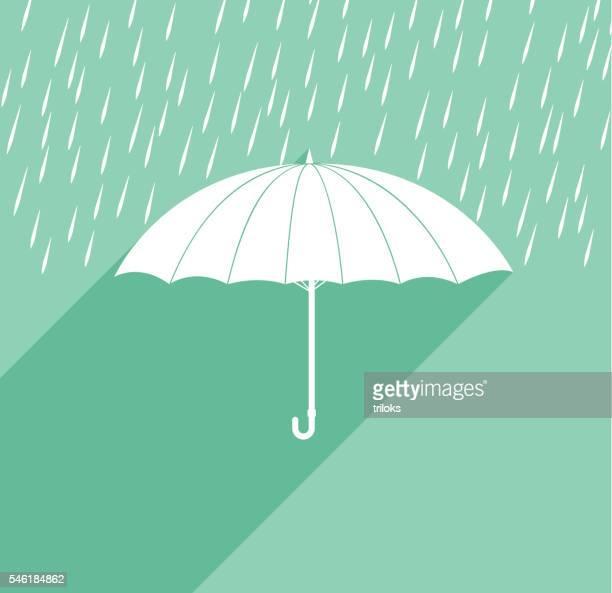 umbrella rain - monsoon stock illustrations, clip art, cartoons, & icons