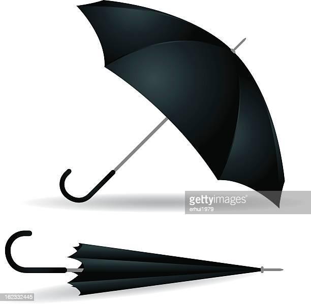umbrella - closed stock illustrations, clip art, cartoons, & icons