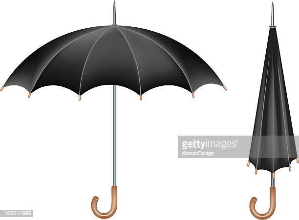 Illustrations et dessins anim s de parapluie ferm getty - Parapluie dessin ...
