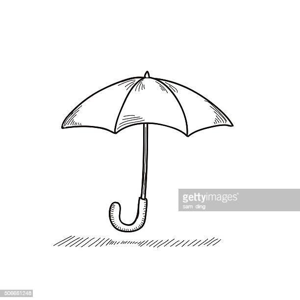 illustrazioni stock, clip art, cartoni animati e icone di tendenza di ombrello - ombrello