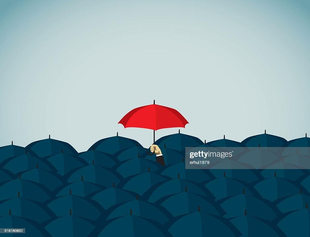 Regenschirm : Stock-Illustration