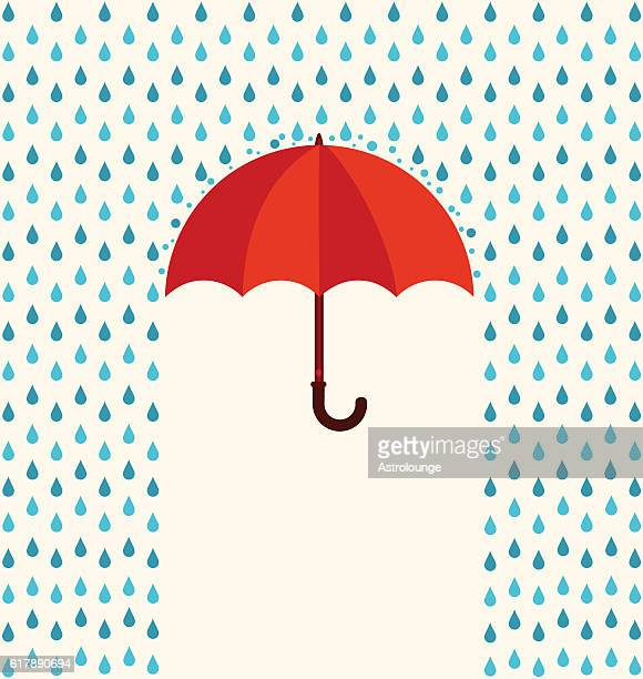 stockillustraties, clipart, cartoons en iconen met umbrella - rain