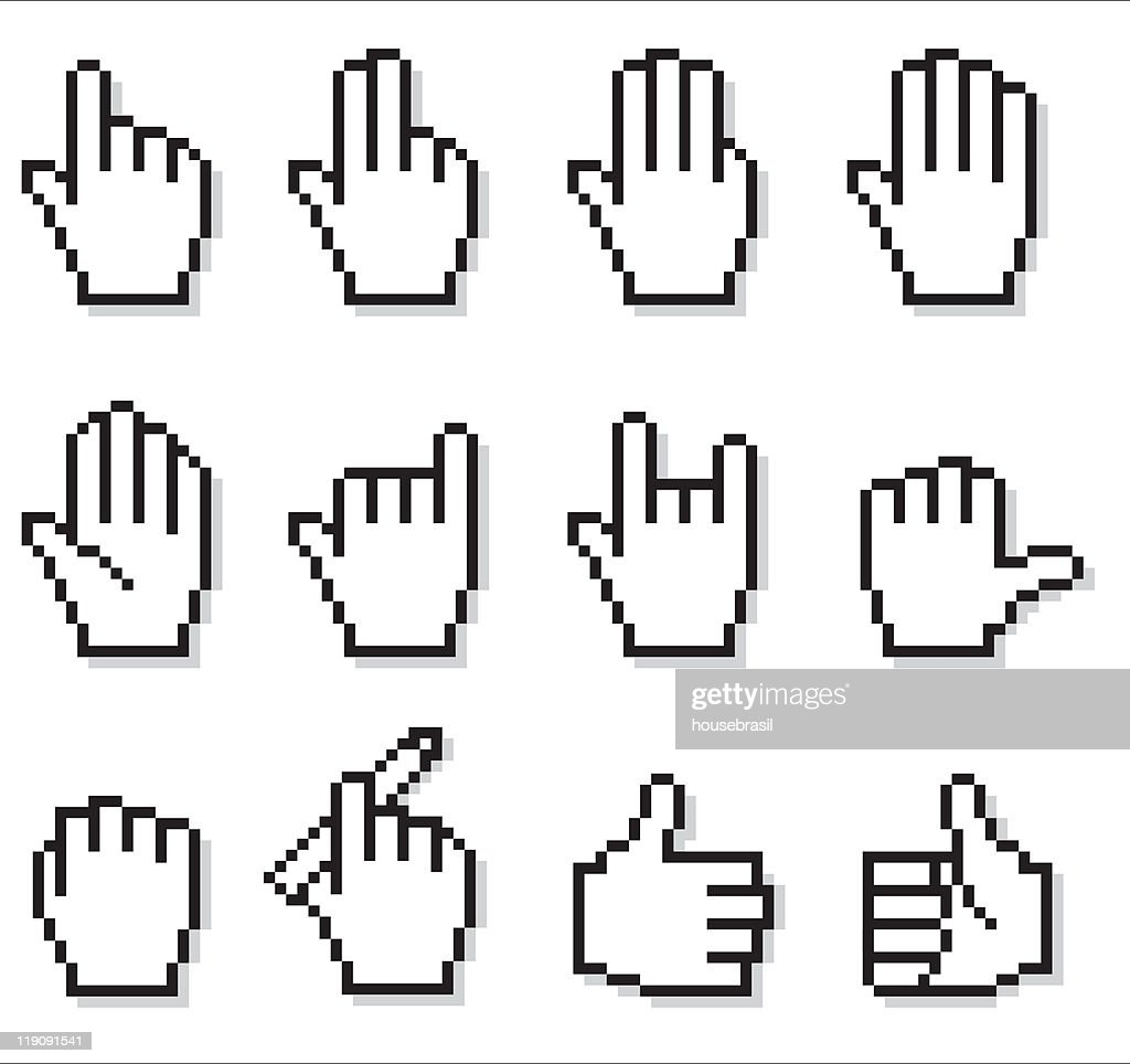 Uncommon Web Hand Icons