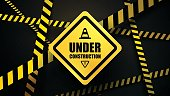 Under construction and police line
