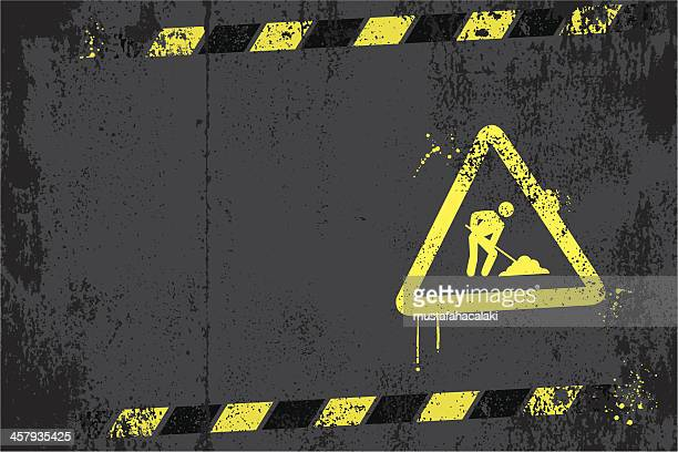 under construction graffiti - foundation stock illustrations, clip art, cartoons, & icons