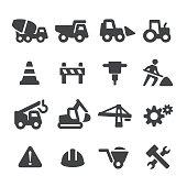 Under Construction Icons Set - Acme Series