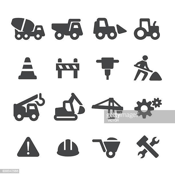 Under Construction Icons Set - Acme Series