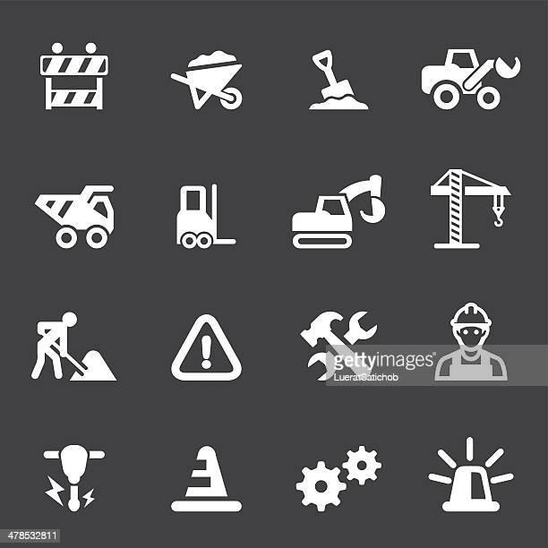 Under Construction Mono icons