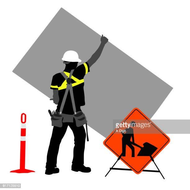 Under Construction Street Sign