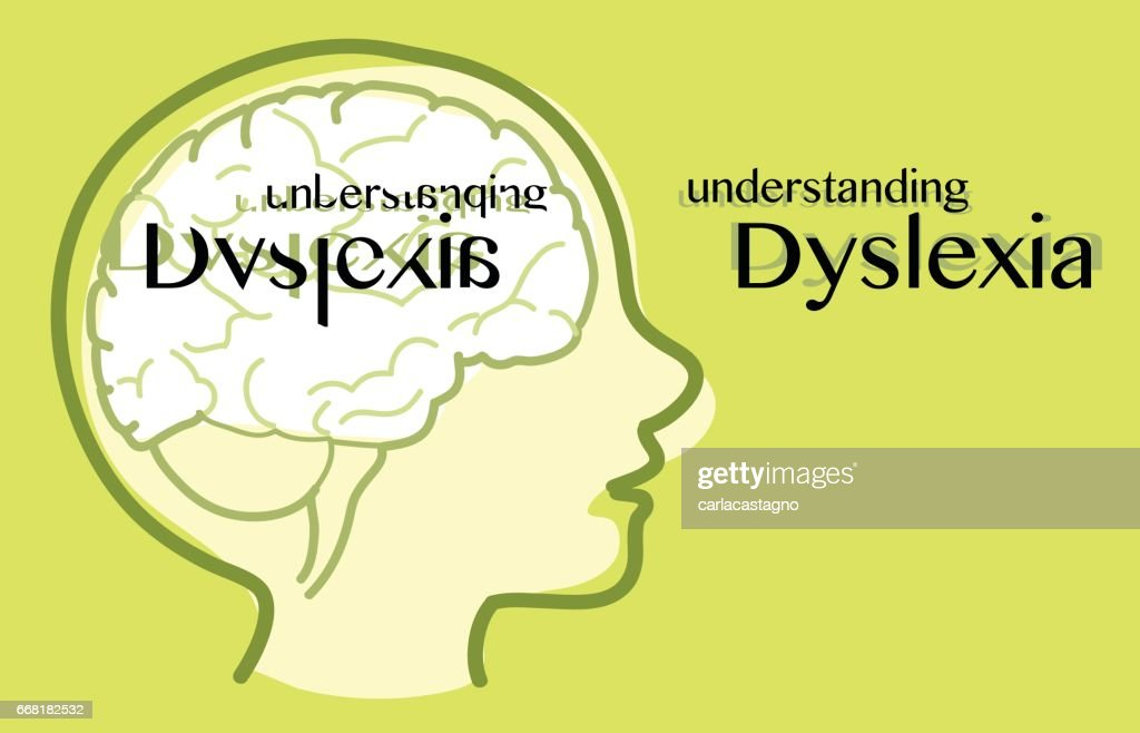 Understanding dyslexia vector