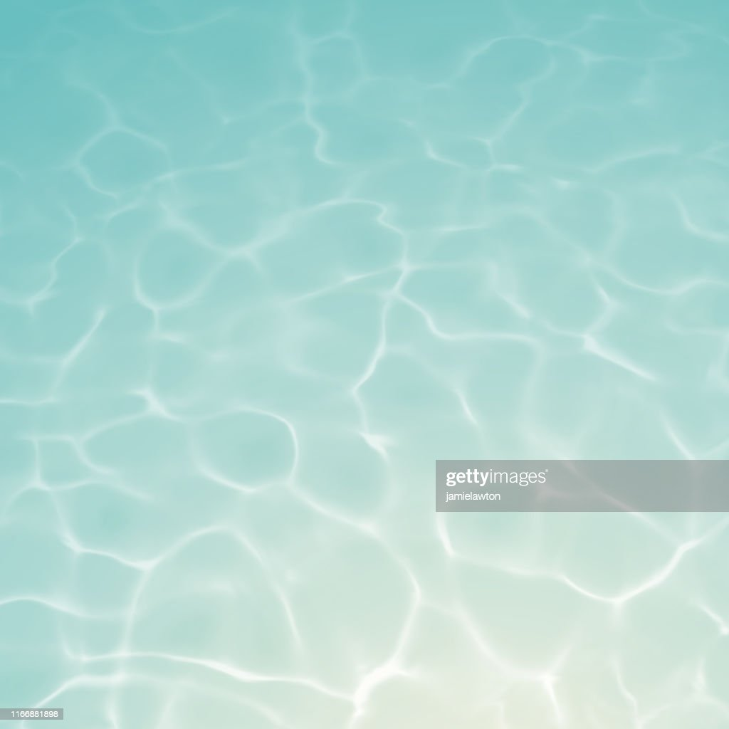 Underwater Background with Ripples and Reflections : stock illustration