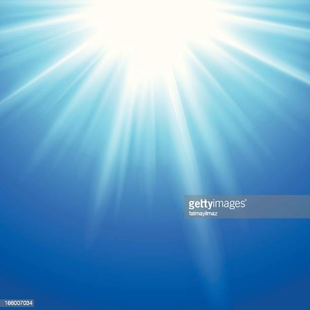 underwater starburst - spirituality stock illustrations, clip art, cartoons, & icons