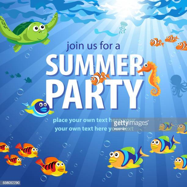 Underwater Summer Party