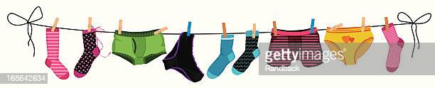 underwear - underwear stock illustrations, clip art, cartoons, & icons