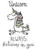 Unicorn always believes in you