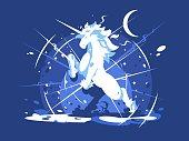 Unicorn mythical beast