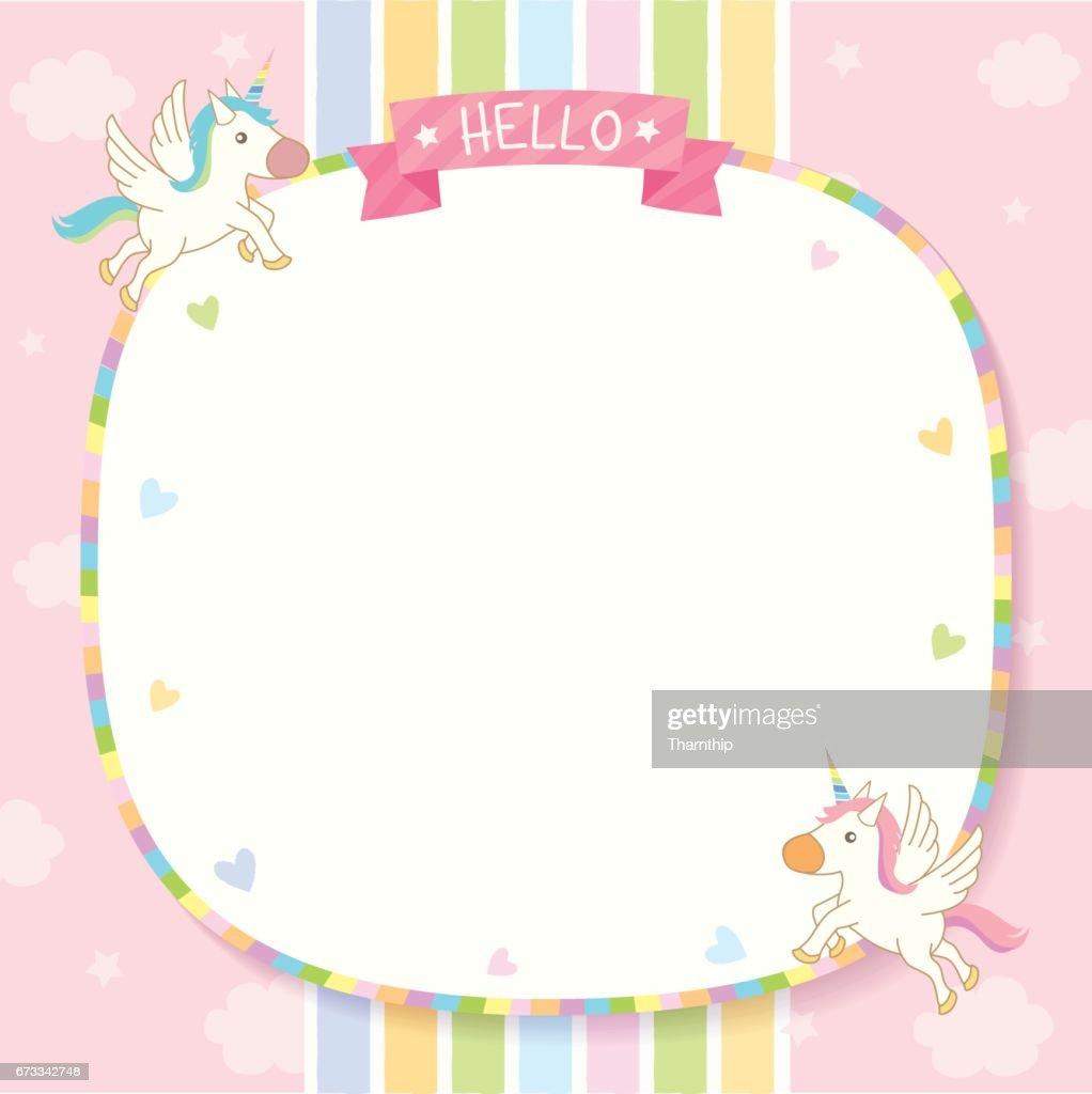 unicorn pinkk template