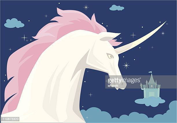 unicorn - unicorn horn stock illustrations, clip art, cartoons, & icons