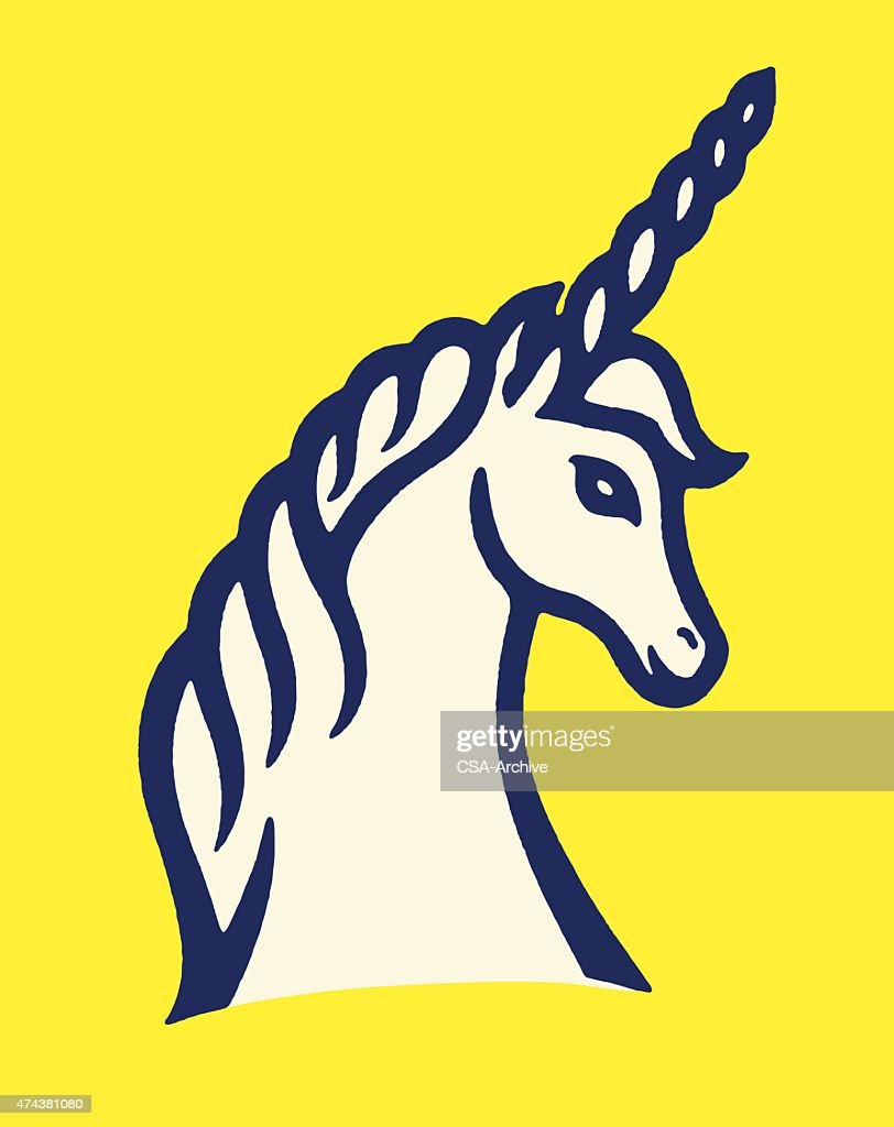 Unicorn : stock illustration