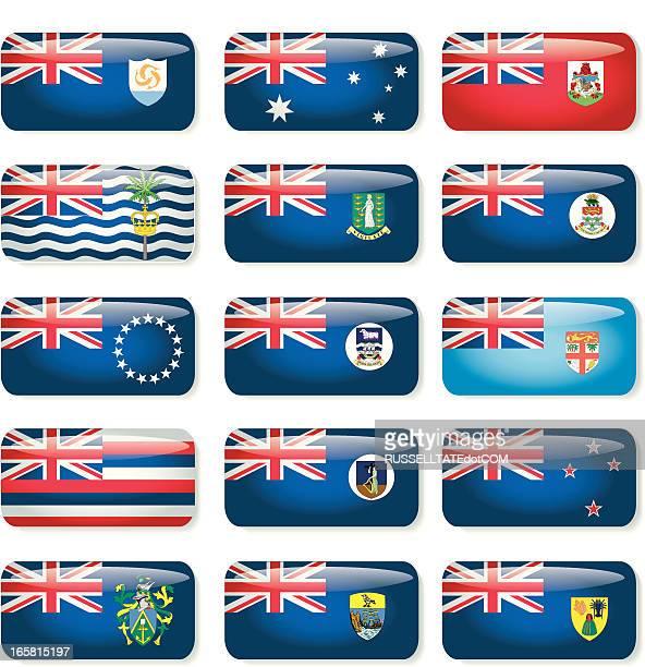 ilustraciones, imágenes clip art, dibujos animados e iconos de stock de bandera de países - islas malvinas